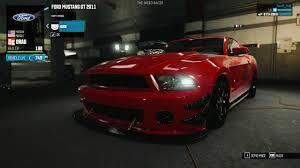 2011 Ford Mustang GT Drag Spec - Customization - The Crew Wild Run ...