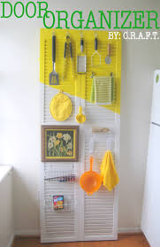 Kitchen Organizer Rental Trick 3 A Door Organizer Craft