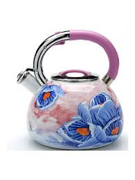 <b>Чайник эмалированный со свистком</b> 3,5 л MAYER&BOCH ...