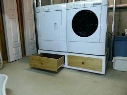 washer dryer pedestal laundry room