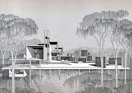 modern architecture drawing. Interesting Modern Architecture Drawing Building Design Freehand