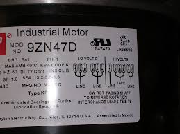 dayton v motor wiring question com x and off the motor can run on 120v or 230v electricity i don t fully understand the wiring diagram on the side of the motor the picture is below