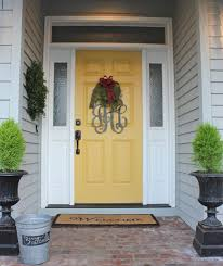 yellow brick house red door. Fabulous Fantastic Yellow House Front Door Color Nate Meg New Gray Brick Red