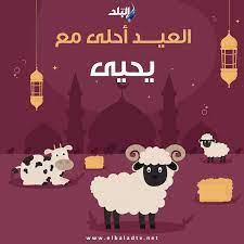 بالاسم .. تهنئة عيد الأضحى المبارك 2021 للأسرة والأصدقاء .. صور - قناة صدى  البلد