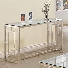 furniture for the foyer. Console Table For Entryway Glass Top Modern Hall Room Furniture Metal Base Foyer Decor The