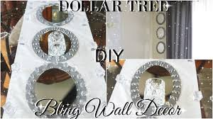 diy dollar tree glam mirror wall sconce dollar bling wall decor diy room decor