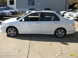 2006 Wicked White Mitsubishi Lancer RALLIART #56156371 Photo #8 ...