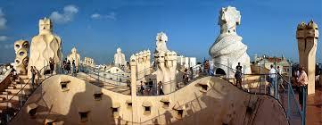 Дом Мила в Барселоне творение Антонио Гауди Испания по русски  Дом Мила в Барселоне творение Антонио Гауди