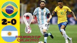 البرازيل والارجنتين   تصفيات كأس العالم 2022   brazil vs argentina 🔥🔥 -  YouTube