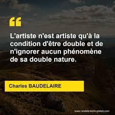 Lartiste Nest Artiste Quà La Condition Dêtre Double Et De