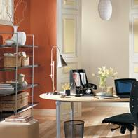 paint color for office. orange paint color palettes for studies and home offices from benjamin moore. office