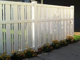 vinyl semi privacy fence. Contemporary Vinyl And Vinyl Semi Privacy Fence L