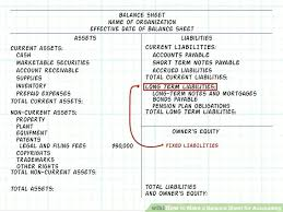 1 Create A Classified Balance Sheet In Good Form Template Acct