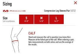 Mcdavid Compression Black Leg Sleeve Pair