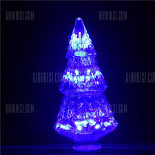 Godrays G082303 Tr Colorful Led Christmas Tree Light Blue Lights E27 Ac85 265v