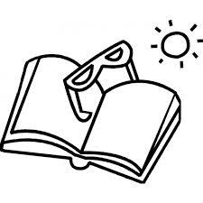 Disegno Di Letture Al Mare Da Colorare Per Bambini