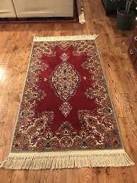 2 10 x 5 karastan red medallion kirman pattern 762 wool rug