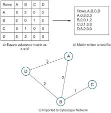 Amatreader Importing Adjacency Matrices Via Cytoscape Automation