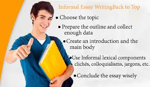 informal essay outline structure format topics english informal essay writing