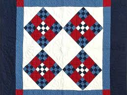 Amish Quilt Wall Hanger Amish Quilts Wall Hanging Amish Red White ... & Amish Quilt Wall Hanger Amish Quilts Wall Hanging Amish Red White And Blue  Nine Patch Wall Adamdwight.com