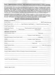 School Physical Form School Physical Documentation School Physical Documentation 1