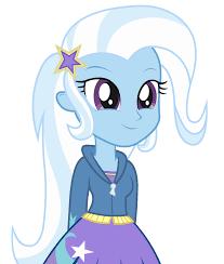 <b>Trixie</b> Lulamoon - <b>Equestria Girl</b> by negasun on DeviantArt