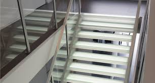 stairplane glass stairs staircase glass railings new york nyc los angeles miami schweiz suisse