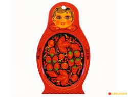 <b>Санта</b> Клаус 55*35 деревянная <b>заготовка</b> игрушка для <b>росписи</b>