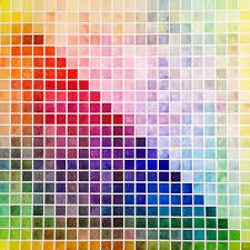 Watercolor Palette Chart