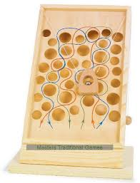 Wooden Maze Games Tabletop Climbing Maze 89