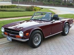 1969 triumph tr6 first year for the