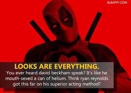 Deadpool Quotes Mesmerizing 48 Epic Quotes By Deadpool That Prove He Is The Most Badass And Most