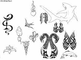 Vzory Jednobarevných Tetování 2 Fída Und Freunden