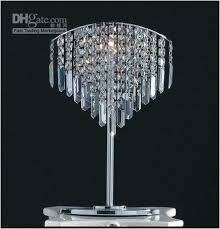 beautiful white chandelier table lamp white diamond chandelier table lamp