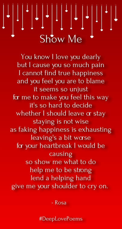 love poems for him from the heart in english