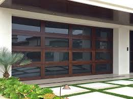 glass garage doors install