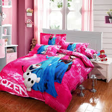 frozen bed set queen size