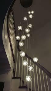 bubble ball 17 light led round multi light pendant