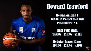 Howard Crawford 2017 Highlights - YouTube