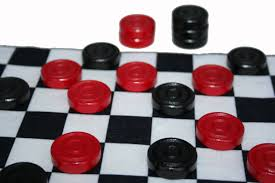 Wooden Game Pieces Bulk 100 Black OR Red Wood Checkers Game Pieces Checkers Game Game 25