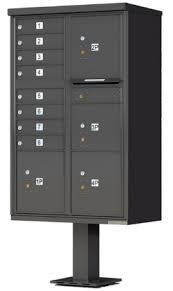 open residential mailboxes. Outdoor Pedestal Mounted Mailbox Options Open Residential Mailboxes