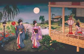 theater preview the pursuit of happiness pageant of the masters  chikanobu moonatavacationhouse