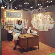 a favorite s booth at the national stationery show