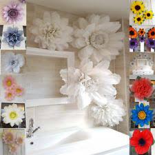 Paper Flower Wedding Decorations Pink Paper Pom Pom Party Decorations Ebay