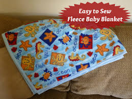 how to make a fleece baby blanket perfect easy to sew fleece baby blanket