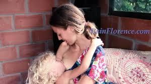 Old women breast milk