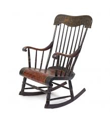 old style wooden rocking chair daily trends interior design