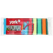 <b>Набор кухонных губок York</b> Миди 10 шт — информация и оценки
