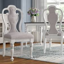tiphaine upholstered dining chair set of 2