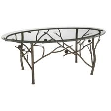 Iron And Glass Coffee Table Wrought Iron Table Base Photo Iron Glass Coffee Table